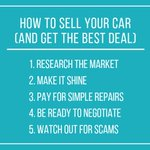 Image for the Tweet beginning: Considering selling your car the