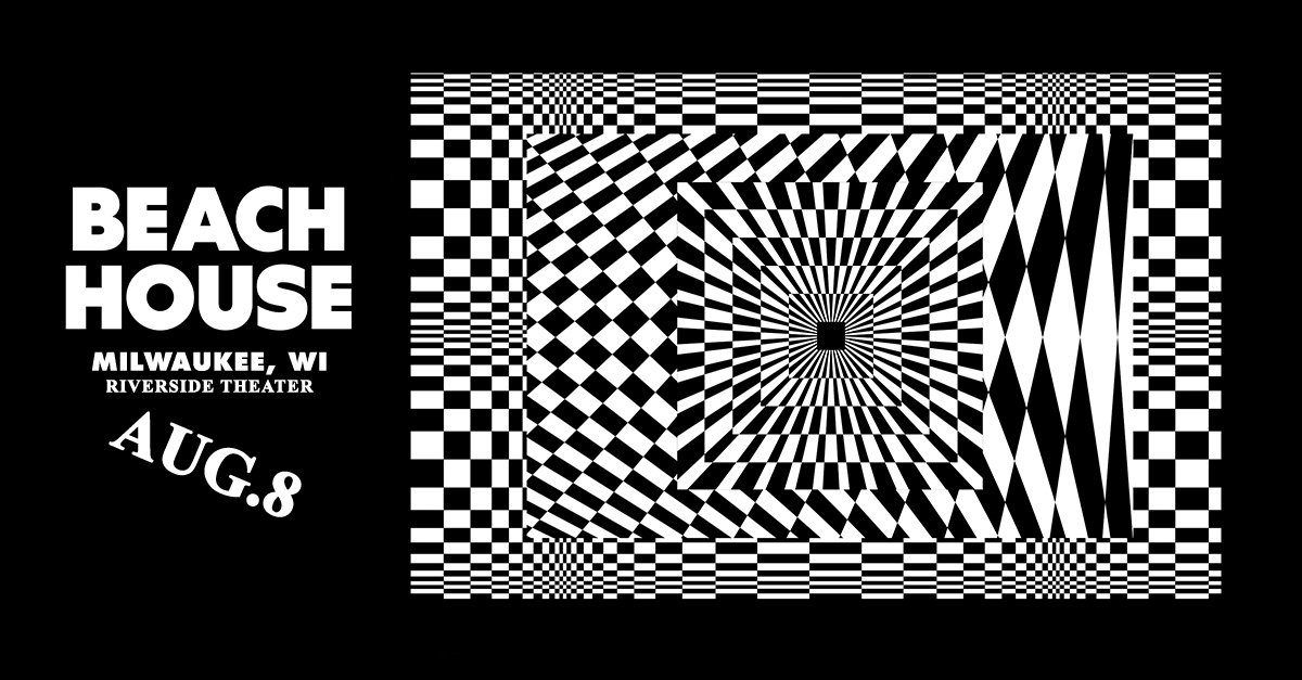PRESALE ALERT: Get your tickets for @BeaccchHoussse August 8th at the Riverside before anyone else with code ALIEN » bit.ly/BeachHouseMKE19