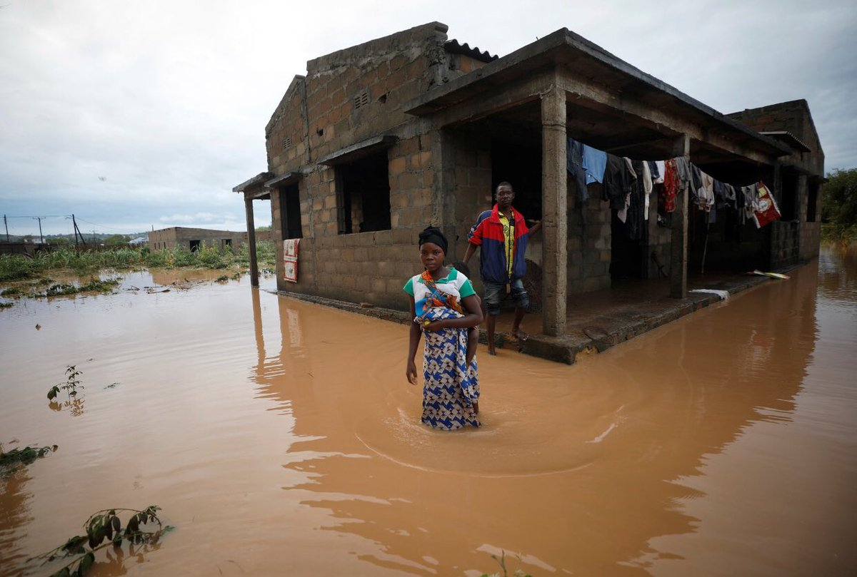 Mozambique -- one of the poorest countries in the world -- is borrowing money to pay for its own cyclone relief.If we can raise $1 billion overnight for a church in France, we can surely raise 1/10th of that to help ACTUAL LIVING PEOPLE that are LITERALLY DROWNING AND DYING