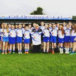 Image for the Tweet beginning: Our talented U14 Camogie team