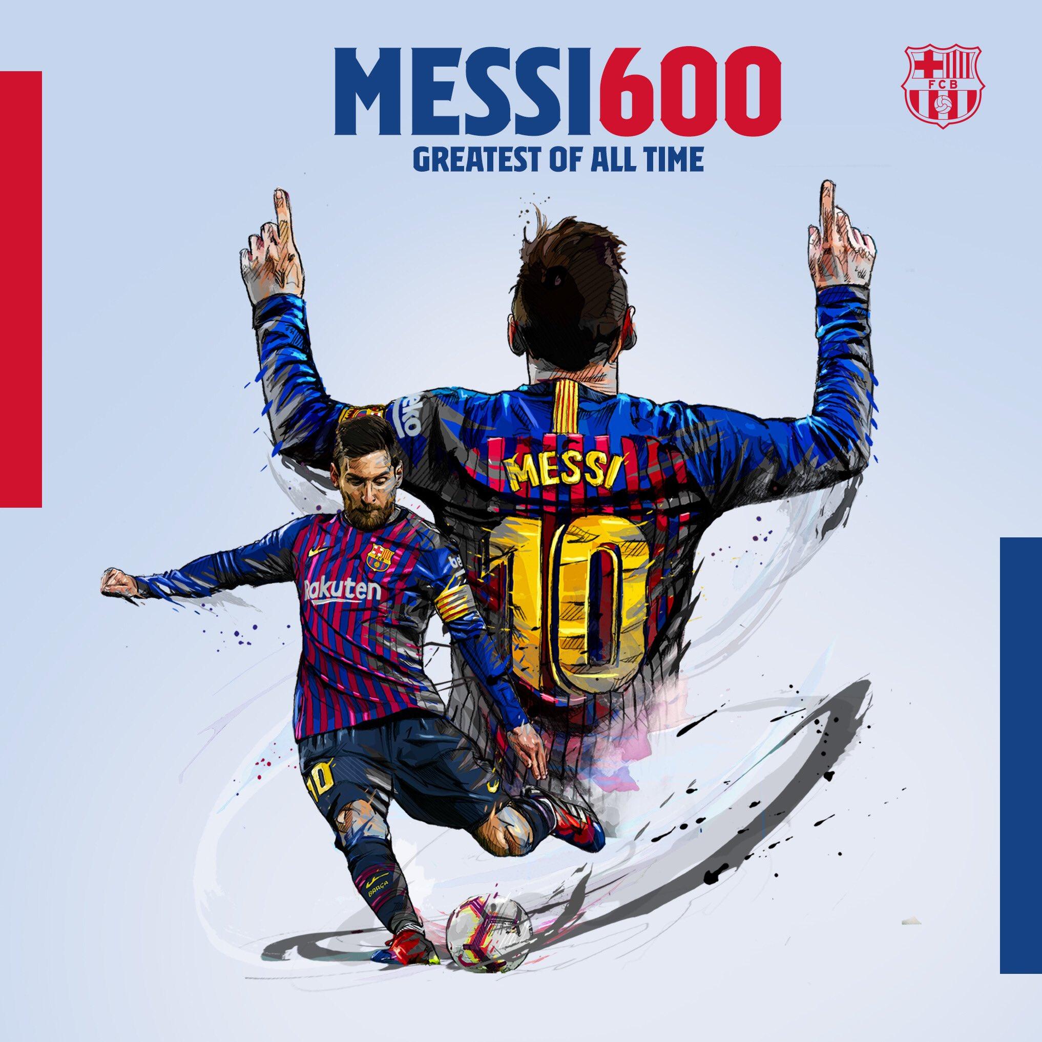 Lập cú đúp ở trận đấu với Liverpool, Messi thiết lập siêu kỷ lục