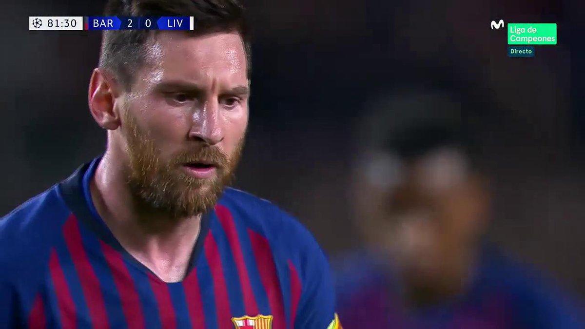 La enésima obra de arte de Leo Messi. #ChampionsMLC