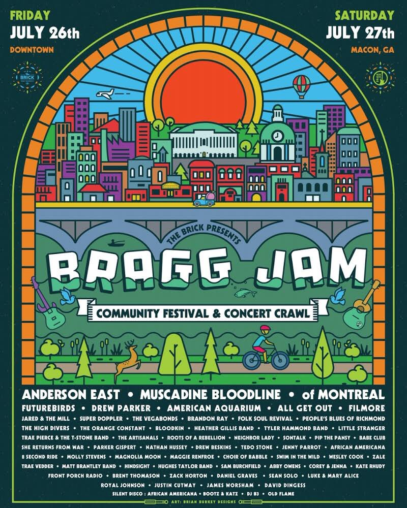 We are excited for #BraggJam in July! See you there.