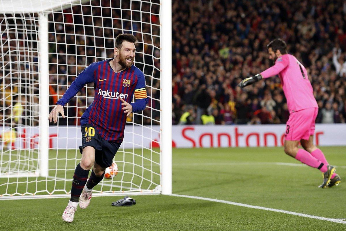ميسي يقود برشلونة للفوز بثلاثية على ليفربول ويضعه على أعتاب النهائي 26