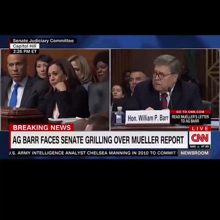"Attorney General Barr White House Offered Unfettered: Kamala Harris On Twitter: ""It's Not A Difficult Question"