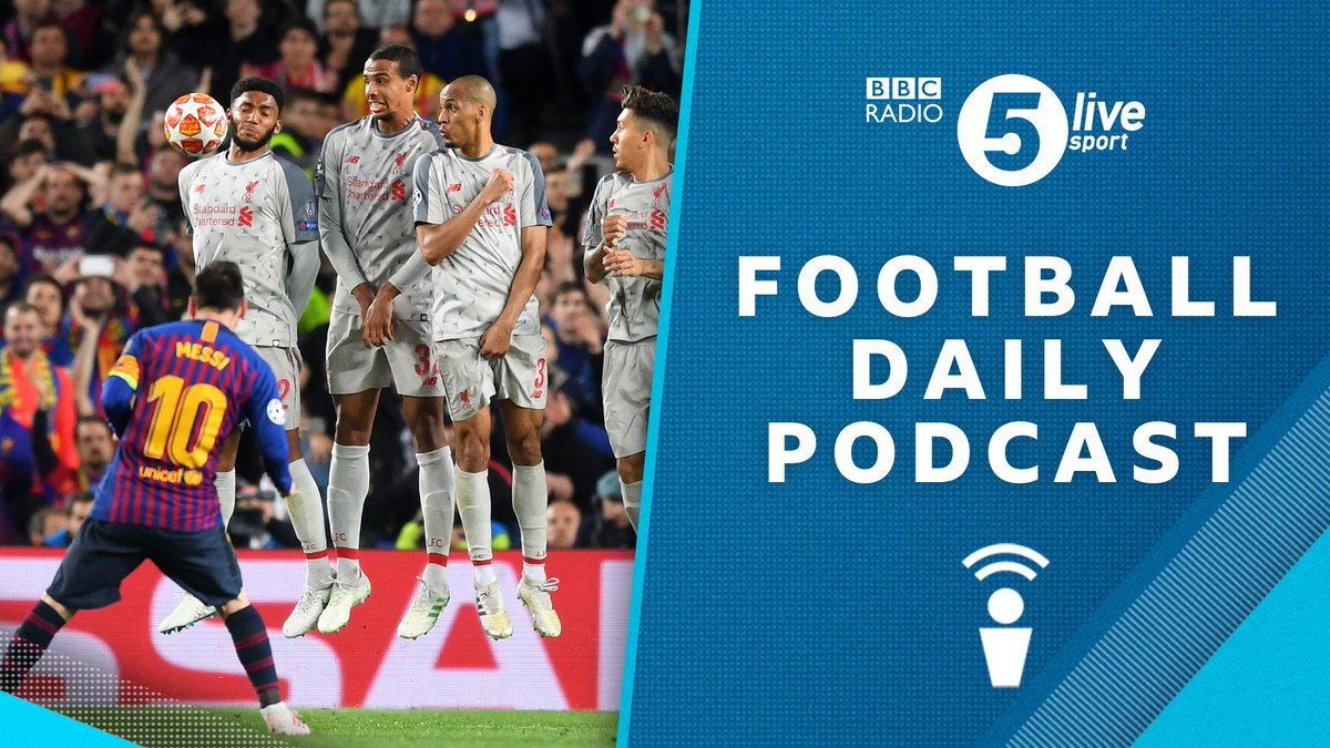 Magical Messi leaves #LFC facing #UCL exit  ⚽ Where did it go right for #FCB? ⚽ And will #LFC fail to win a trophy this season?  @markchapman   @GuillemBalague   @RobbieSavage8   @bbcjohnmurray  📻 Download the Football Daily: http://bbc.in/2GObORw #BBCFootball