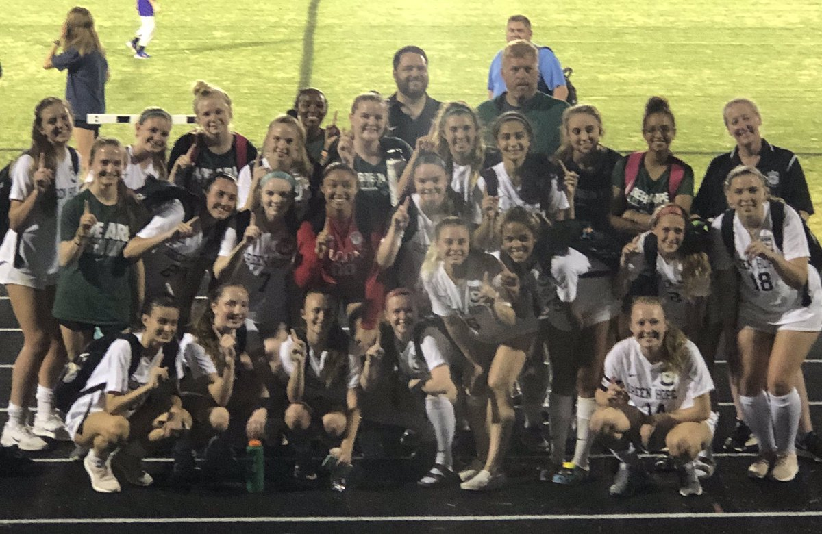 2019 Conference Champions. It wasn't easy, and it didn't just happen. Many highs, many lows but in the end, it was our #culture that held strong and allowed us to bend, but not break. This is a special group. #bettertogether #everyonehasarole #wearegreenhope⚽️❤️