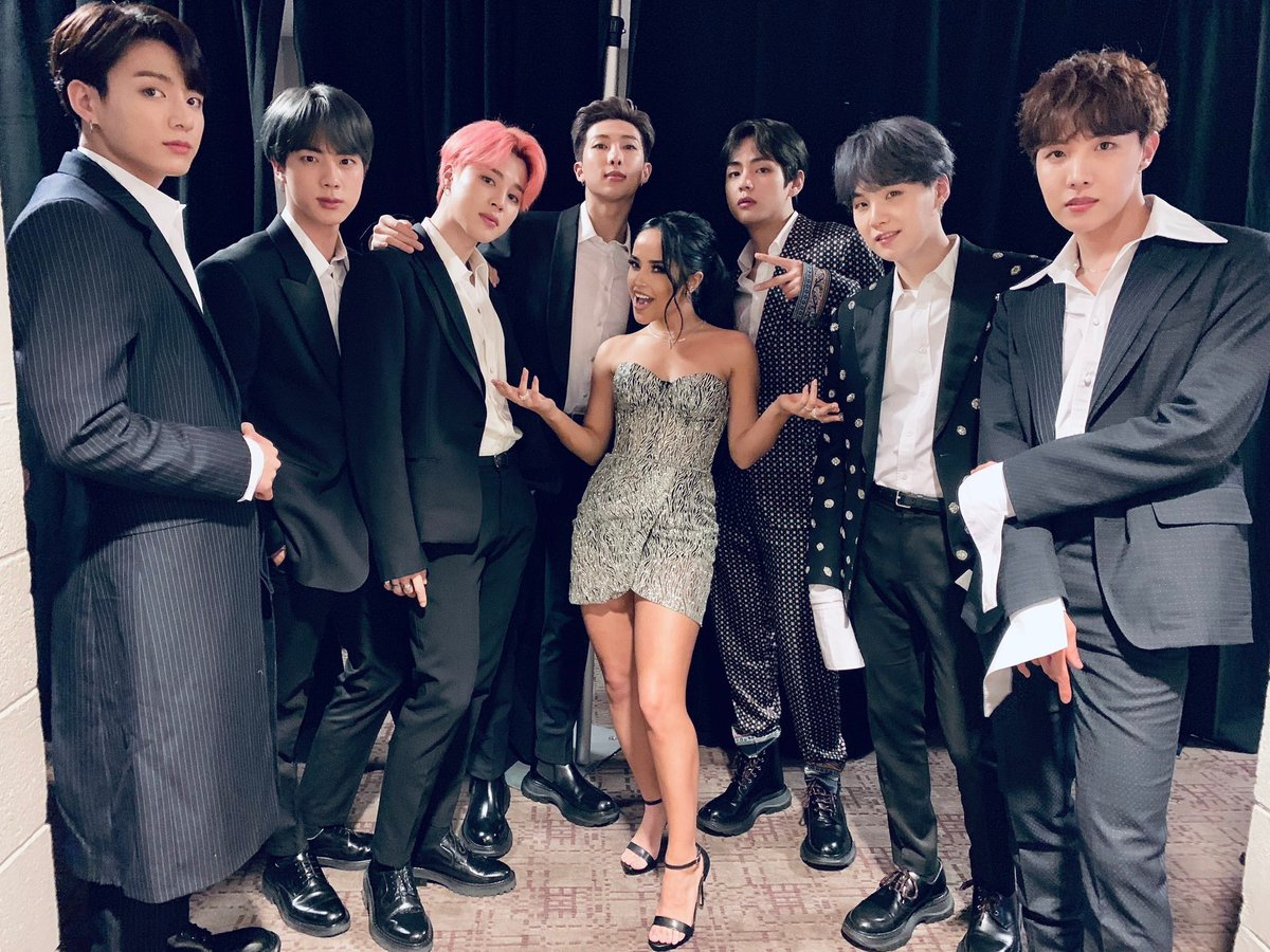 Image result for bts and becky g