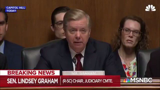 .@Lawrence caught Lindsey Graham complaining about FBI officials saying the same negative things about Donald Trump in 2016 that Lindsey Graham was saying about Donald Trump in 2016. #lastword #msnbc