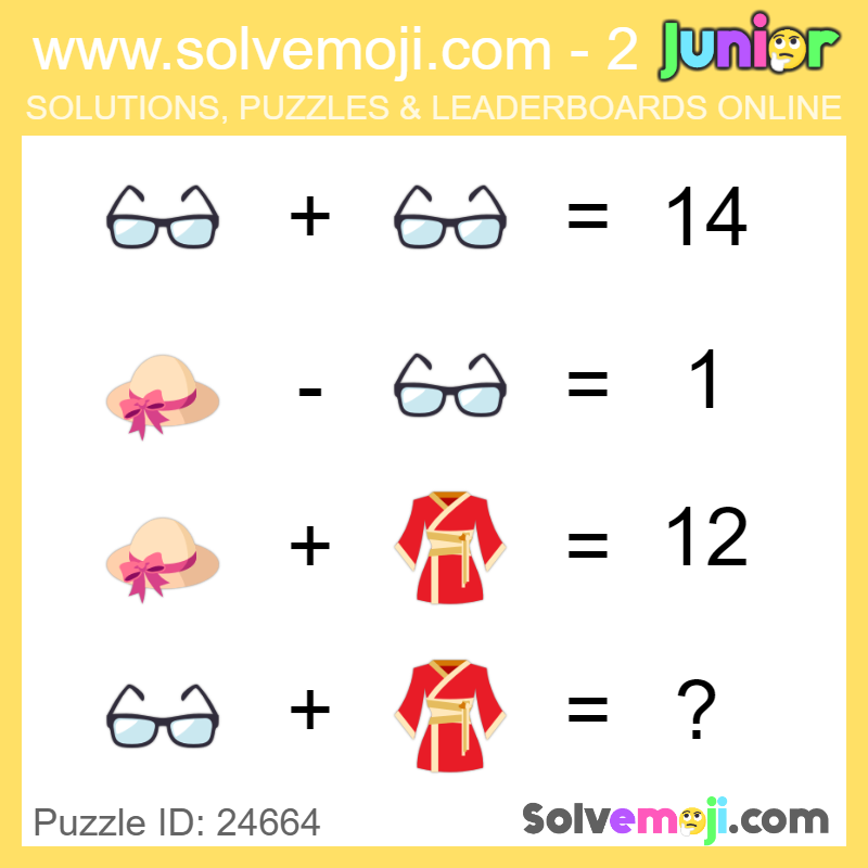 For more puzzles and solutions visit our website! http://www