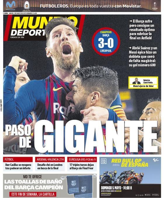 ترجمة غلاف صحيفة موندو ديبورتيفو الكتلونية 02-05-2019 D5hInq6XkAMZIJs
