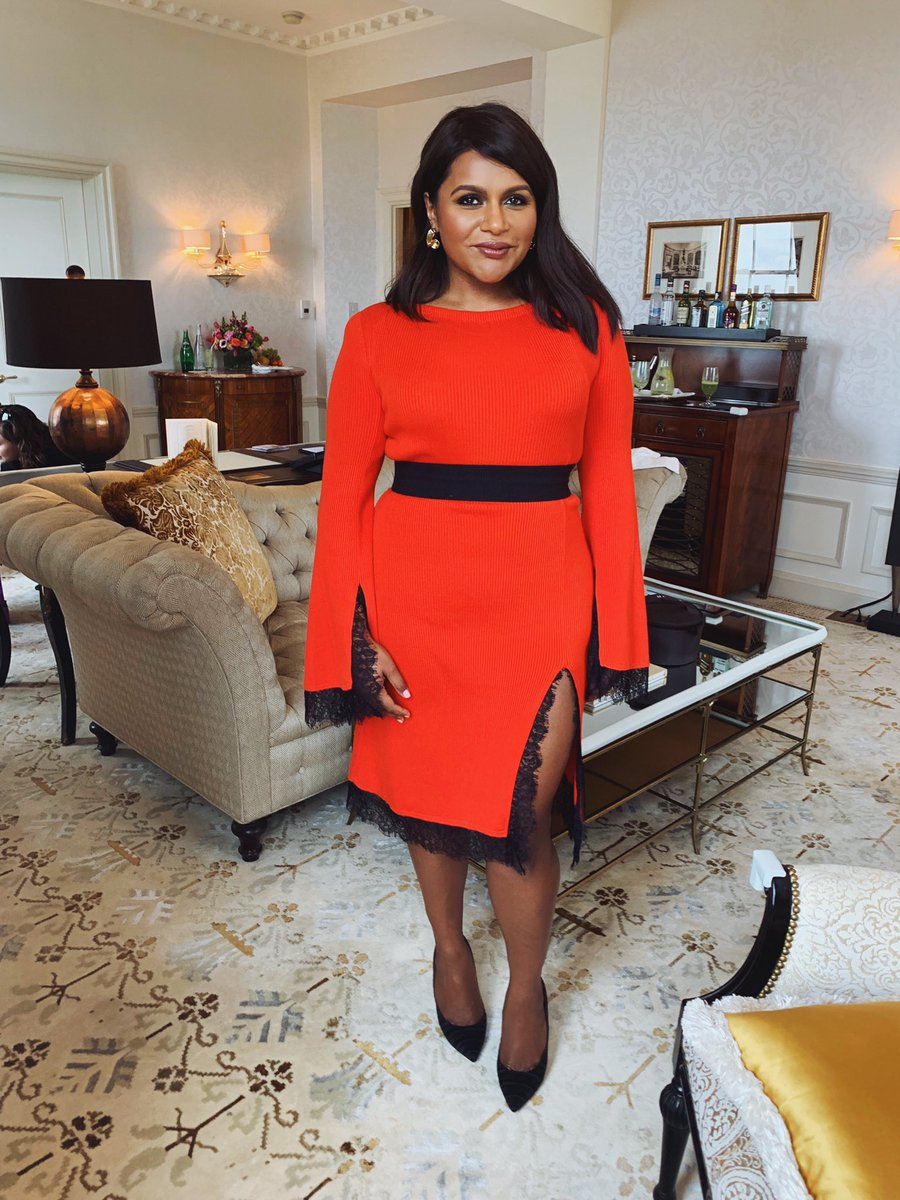 Mindy Kaling On Twitter Another Press Another Dress Hulu Upfronts For Fourweddingsandafuneral
