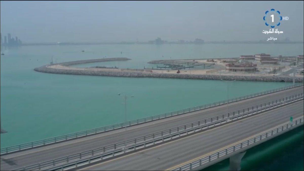 أمير الكويت يفتتح رابع أكبر جسر بحري في العالم D5hP43IWwAEC_5f