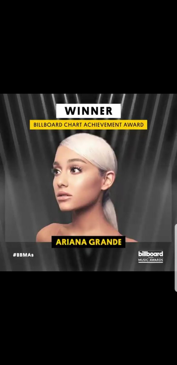 we did it, y&#39;all!  #BBMAs #BBMAsAchievement @ArianaGrande @billboard <br>http://pic.twitter.com/05uX5hkhMq