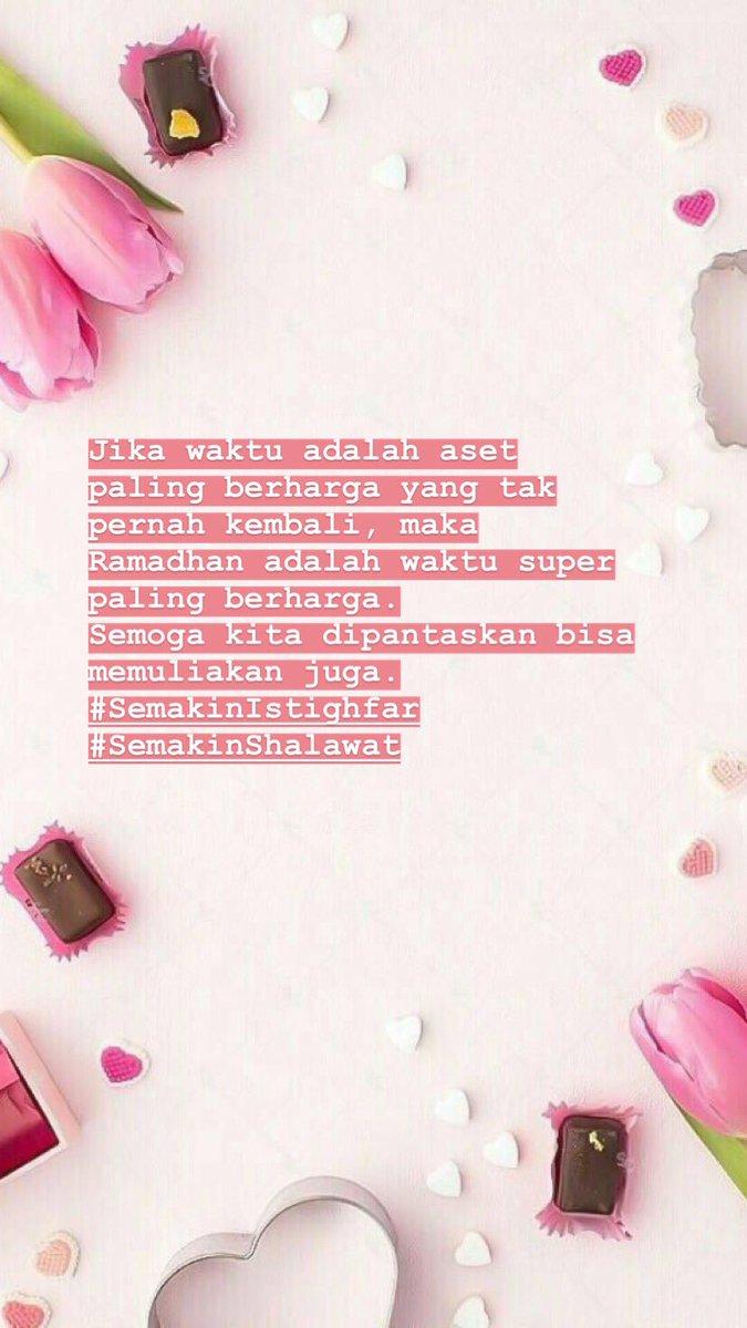H-4 Ramadhan. #SemakinIstighfar #SemakinShalawat