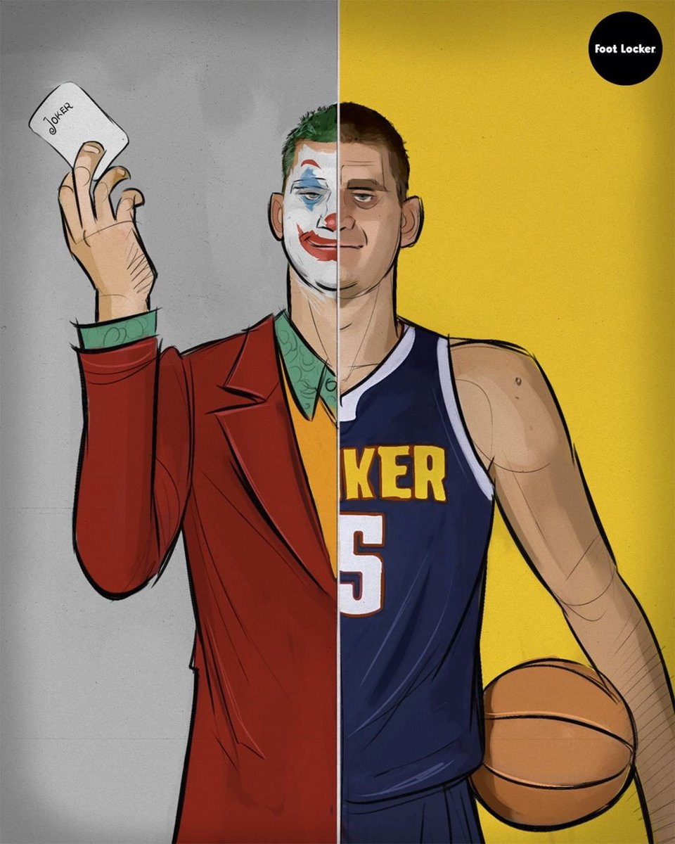 146b47e69 Will The Joker and the  Nuggets be able to force a smile onto Dame and the   Blazers tonight - who are you taking in tonight s game