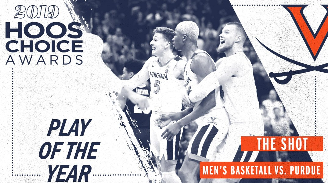Its one of our favorite plays of all-time, the Play of the Year goes to that @ClarkKihei pass and @_mdiakite shot to send it to overtime vs. Purdue! 🔶⚔️🔷 #GoHoos