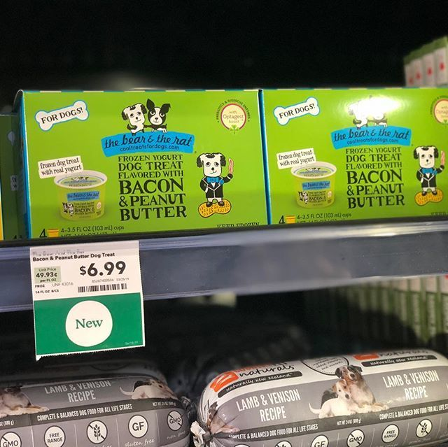 Don't forget to pick up your dogs new favorite frozen yogurt treat now available at Whole Foods!!! Summers here so cool then down with this yummy treat. My pups love it @thebearandtherat #frozenyogurtfordogs #cooltreats #frozenyogurt #dogdad #dogmom bit.ly/2XZgQl2