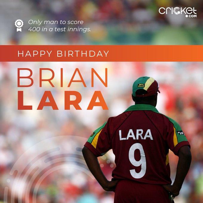 Happy Birthday Brian Lara.