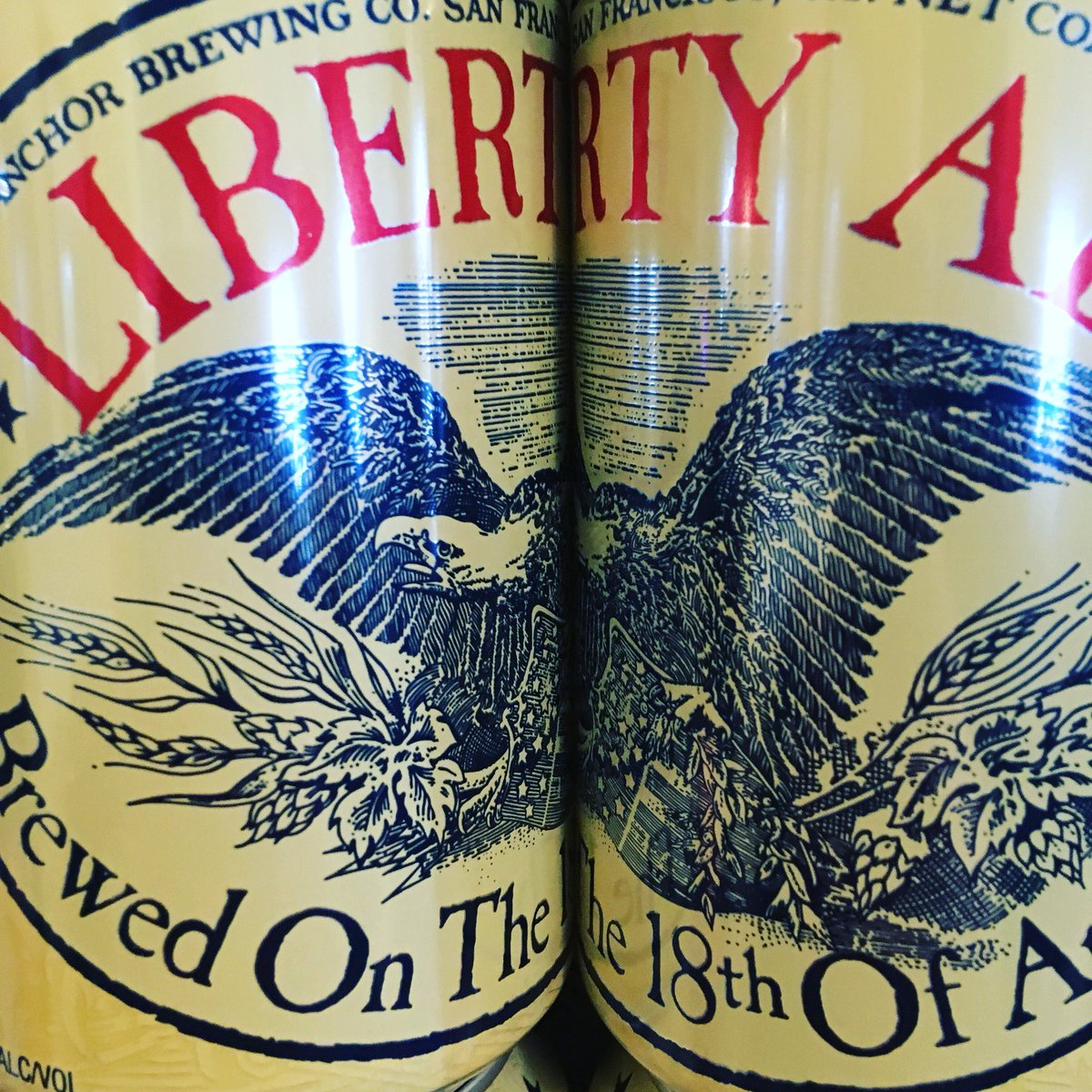 Give me liberty or give me beer! Maybe i'll take both ;) 20% off anchor's liberty ale all may! #headofsteamhuddersfield #tasty #americanpaleale #canbeer #craftbeer #freedom #liberty #hashtag