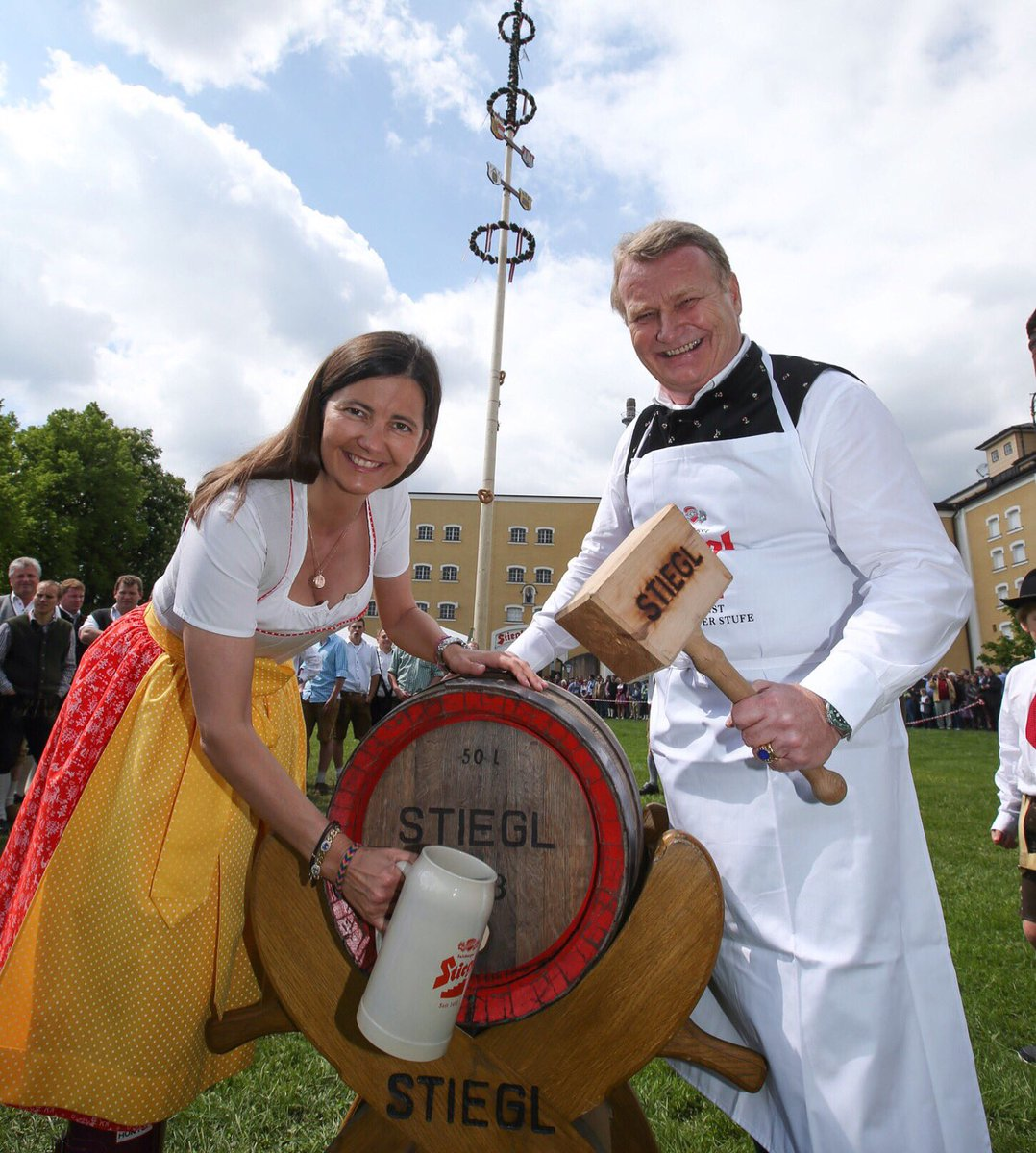 Happy May Day from Uncle Fritz in Bavaria! @Stieglbrauerei #prost #MayDay2019