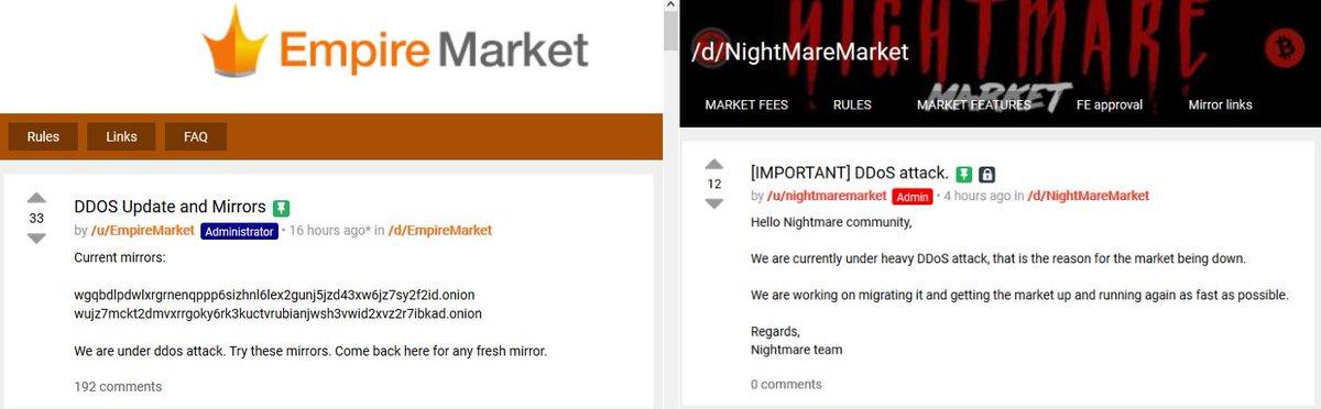 Darknet Markets Links Dream Market Empire Market WallStreet