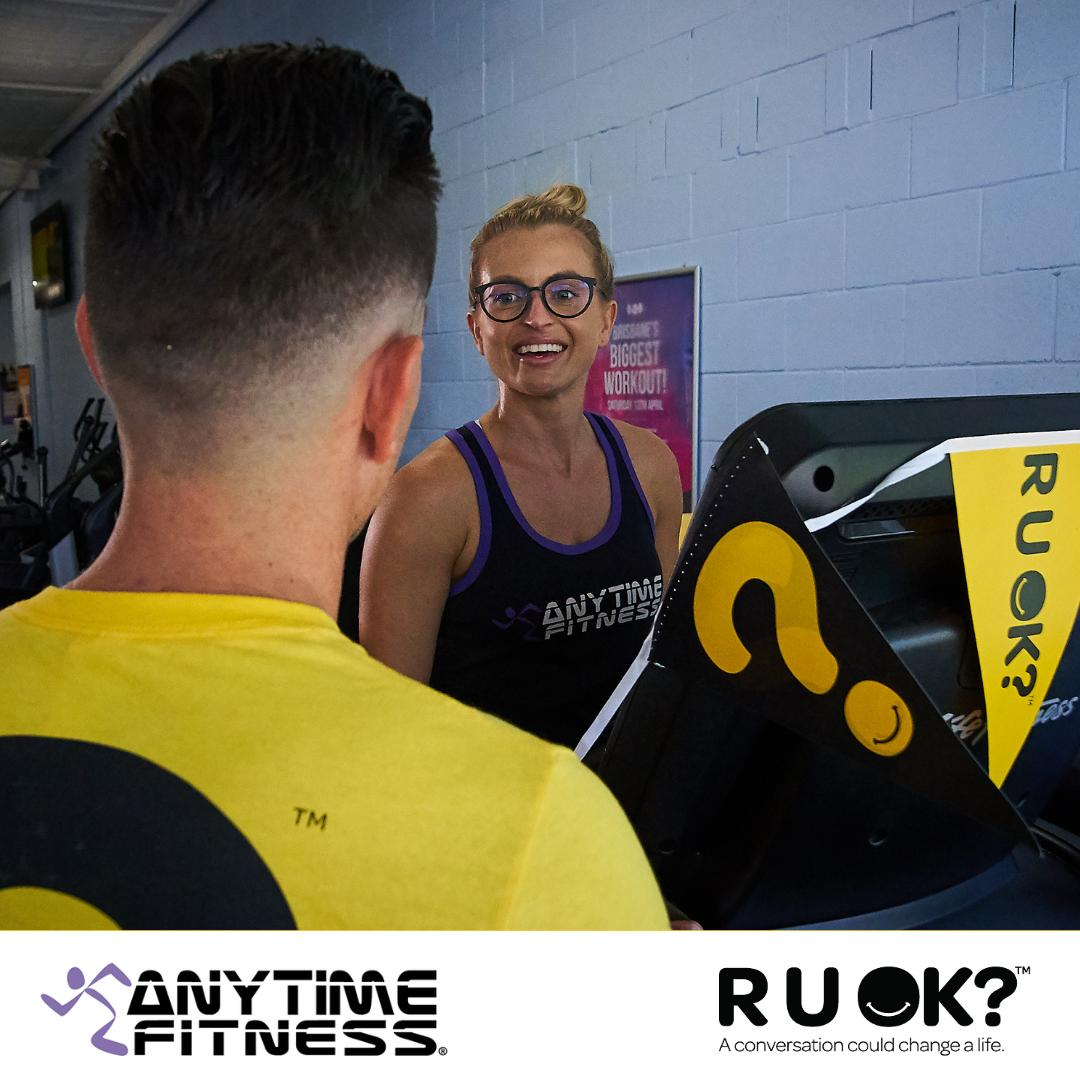 Over 200 clubs have already signed up for the Anytime Fitness 24-hour 'Tread As One' treadmill event! All funds raised will help us move closer to our vision of a world where we're all connected and are protected from suicide. Sign up today: anytimefitness.com.au/treadmillevent #TreadAsOne