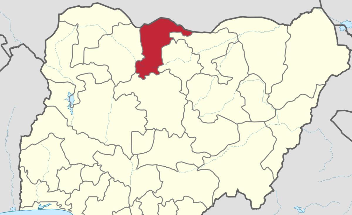Daura: Crowds in Daura, home town of Gen Buhari, are kept