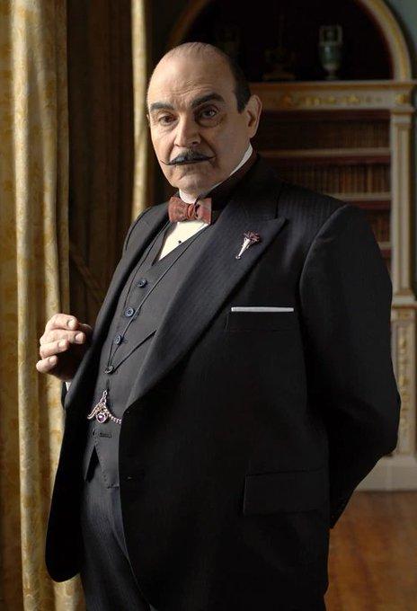 Az örök és legtökéletesebb Poirot! Happy Birthday David Suchet!