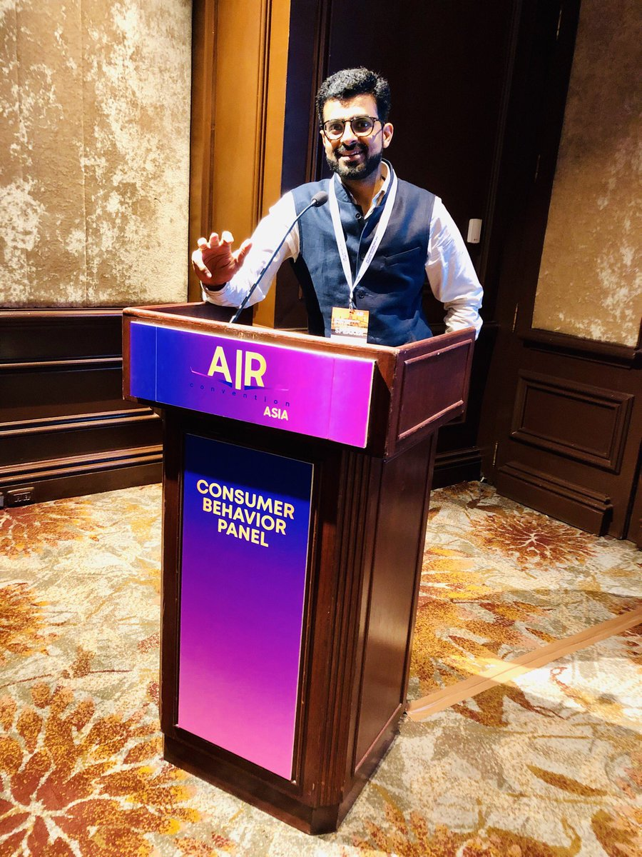 It was great speaking at prestigious Air Convention Asia today at Thailand. I shared my thoughts on the rise of the middle class. It was an honor to represent IndiGo at this global platform.  #AirConvention #AirConventionAsia #Aviation #Airlines #ConsumerExperience #UX  #Digital