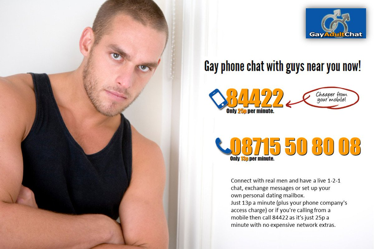 gay chat phone number