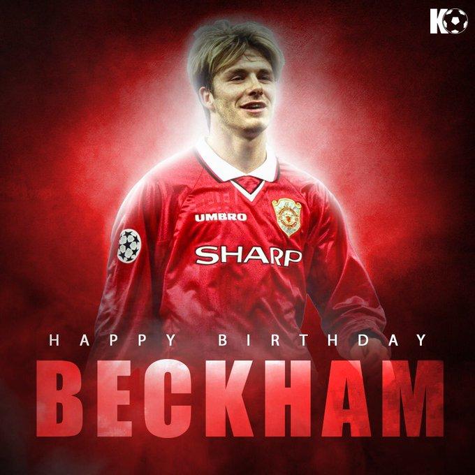 Join in wishing David Beckham a Happy Birthday!