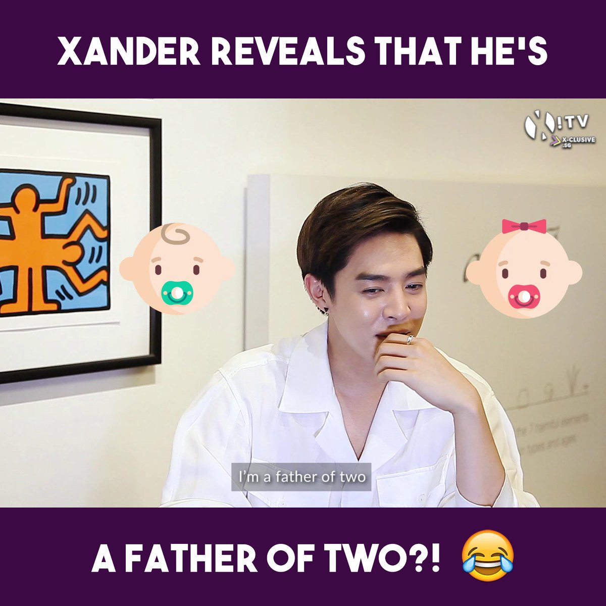 [#I_AM] Xander (@alexander_0729) is a father of two?! 😱 Shocking secrets(?) to be revealed by #Xander in our upcoming I AM interview, coming to (x)clusive very soon! Stay tuned! Watch the teaser NOW ⯈ youtu.be/Udf2BZJU9q4