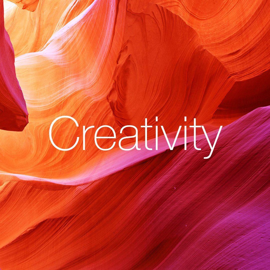 Creativity – create fresh and exciting ideas #creativity #values #quintessence #aboveandbeyond