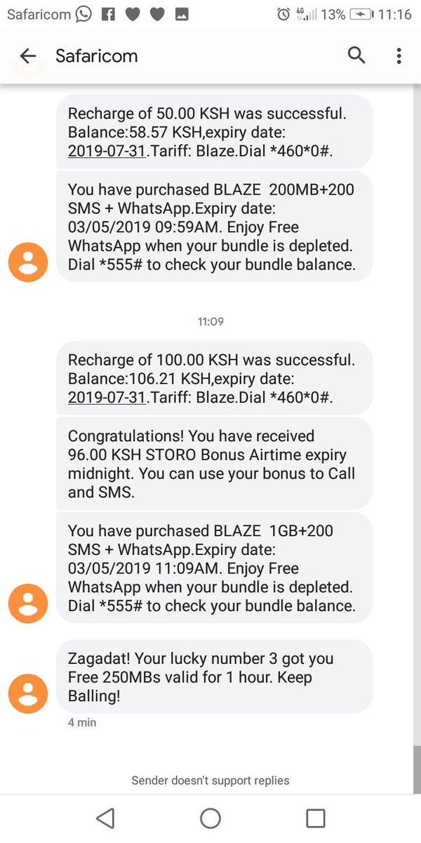 Spin And Win Airtime Kenya