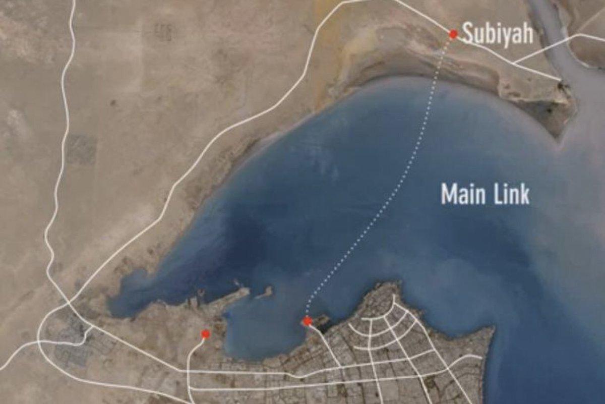 أمير الكويت يفتتح رابع أكبر جسر بحري في العالم D5jNSm2WkAIAq78
