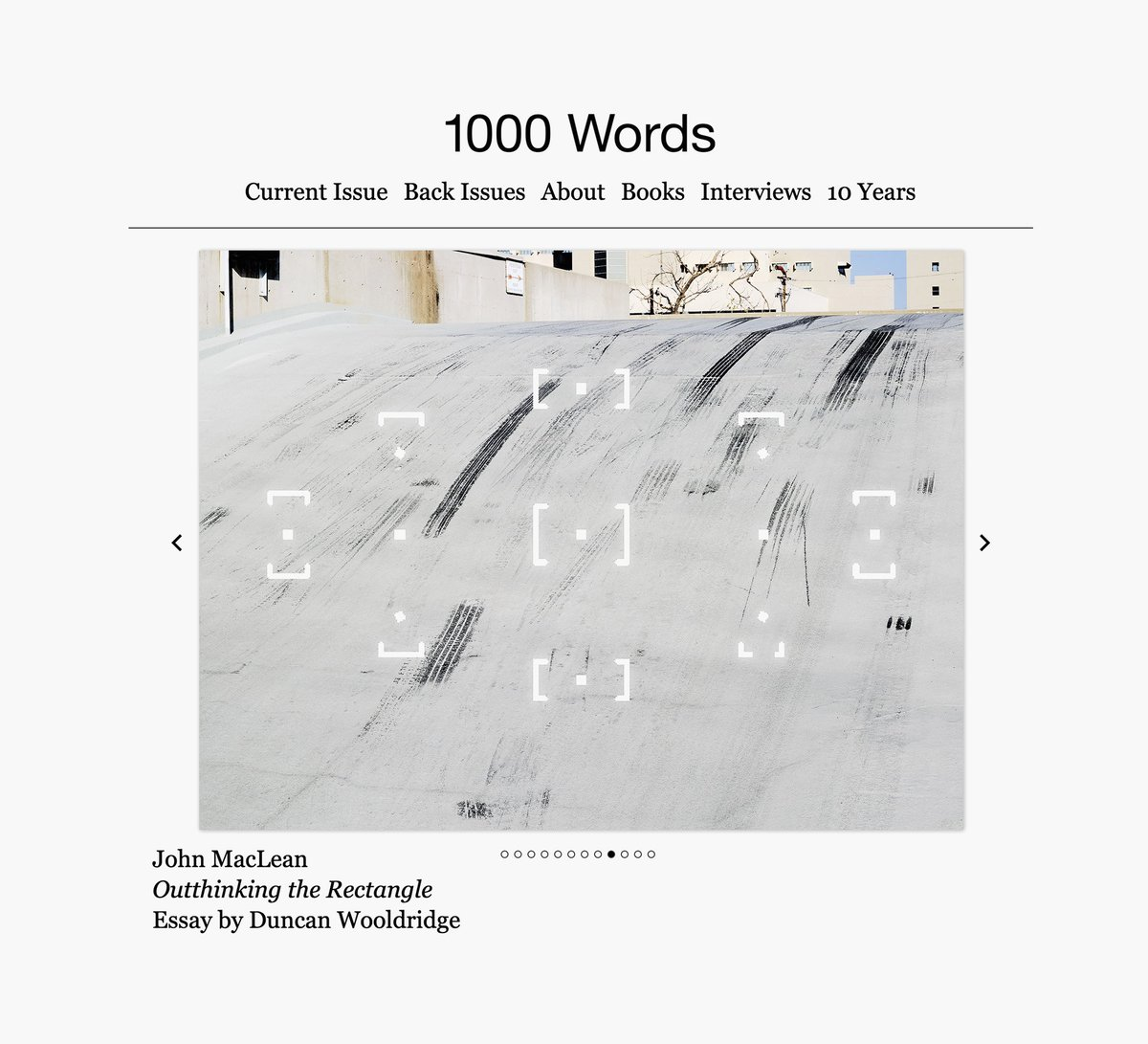 I have work in the new issue of @1000wordsmag with essay by Duncan Wooldridge @Anti_Foto   Issue also features work of Buck Ellison   Janire Najera   Joanna Piotrowska   Stanley Wolukau-Wanambwa   Alys Tomlinson. 1000wordsmag.com