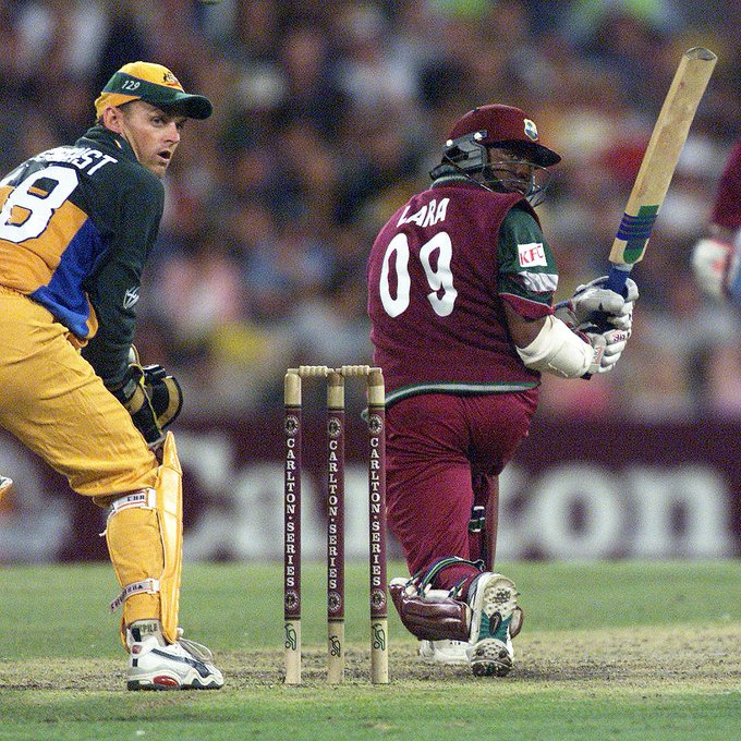 The legendary Brian Lara is still posting half-centuries! Happy birthday to the great man, who turns 50 today