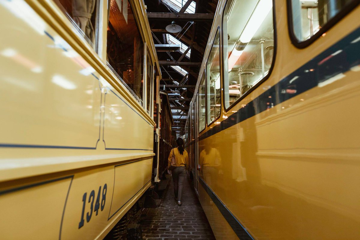 Tring Tring Tram Alert 🚋 These sliding public transport queens are turning 150 this year. Until May 5th, go all out at @Tram_Museum & check this weekend's program of @STIBMIVB via http://www.tram150.brussels #BrusselsMuseums