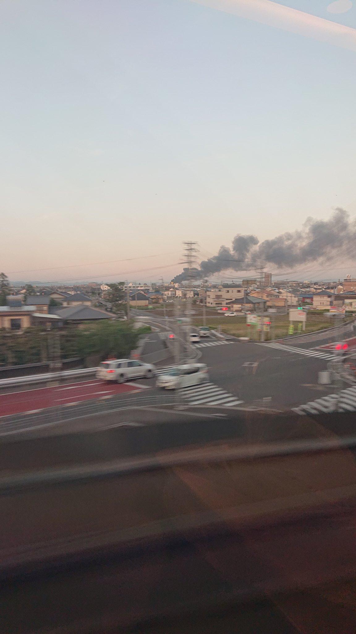 画像,岐阜のどこかで火事らしいこれは厄介そうだ https://t.co/JFUvTiwjym。