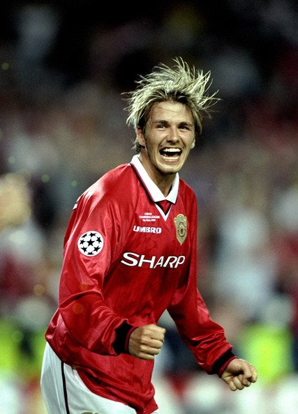 Could do with him to take our free kicks now Happy birthday David Beckham