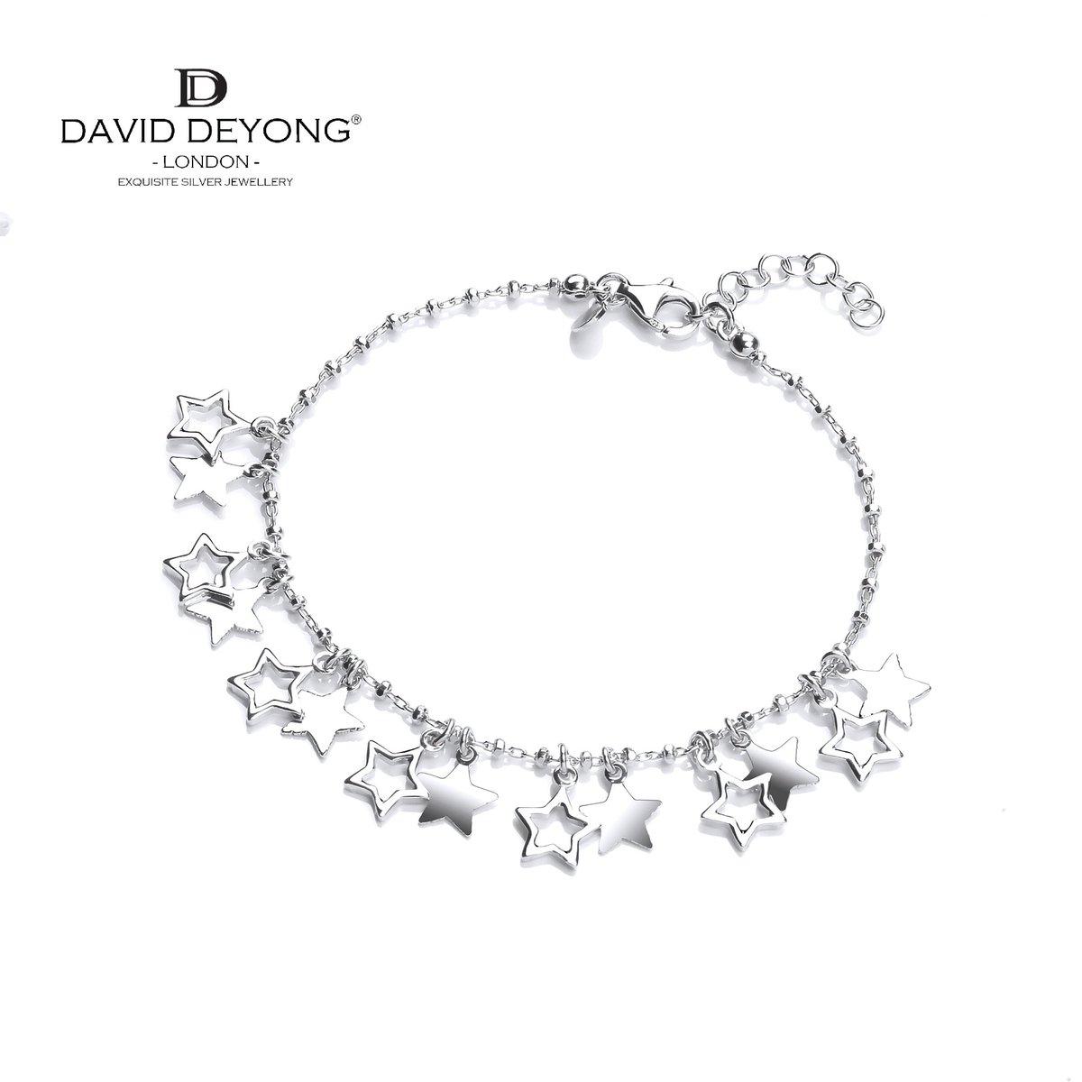e0909dcdde2cd1 ... #webexclusive https://www.daviddeyong.co.uk/sterling -silver-bracelets-c12/silver-bracelets-c92/david-deyong-sterling-silver -stars-charm-bracelet-p1695 … ...