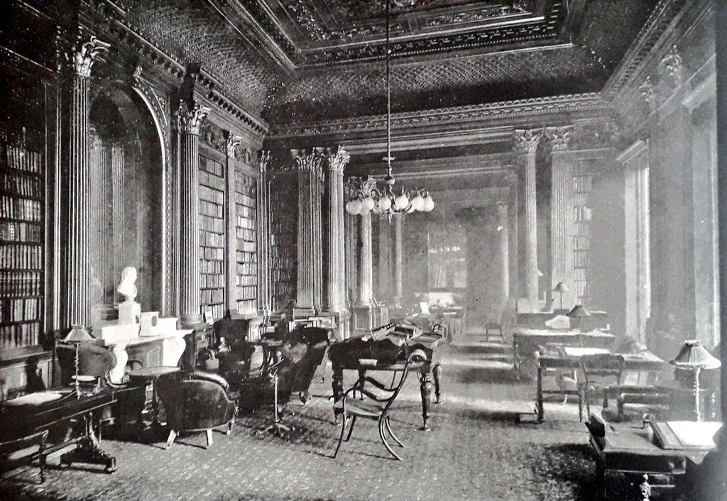 The Reform Club: the Library. About a thousand volumes are added every year; and the library committee includes many distinguished men.