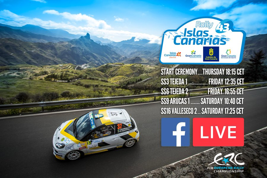 ERC + SCER + CERA: 43º Rallye Islas Canarias [2-4 Mayo] - Página 2 D5jicbhW4AEZnvN