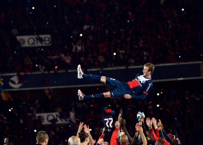 Happy 44th Birthday David Beckham, one of the all time greats.