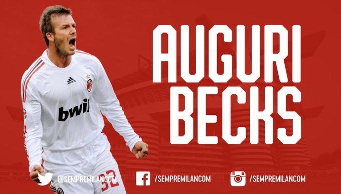 Happy 44th birthday to former midfielder David Beckham!