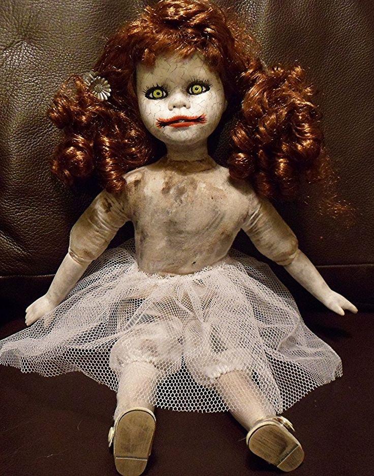 Страшная картинка куклы
