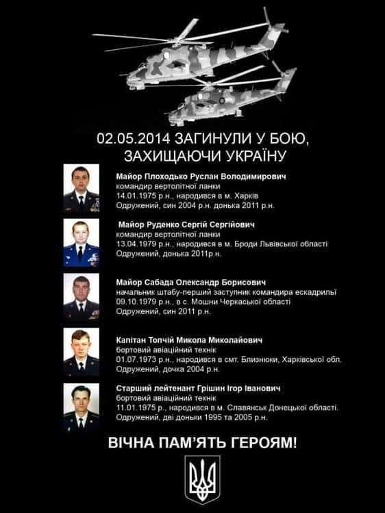 Воины почтили память летчиков, которые были сбиты террористами пять лет назад под Карповкой - Цензор.НЕТ 4082