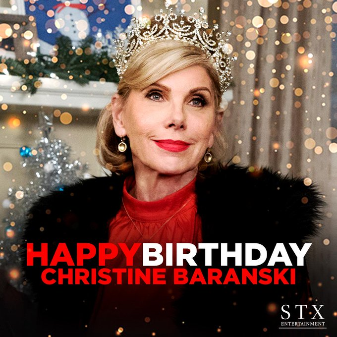 Happy birthday to the amazing Christine Baranski!