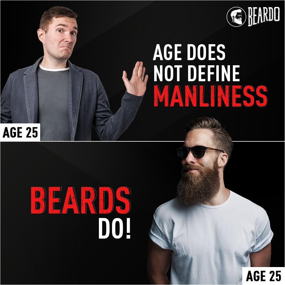 It's time you MANe up!  #Beardo #BeBeardo
